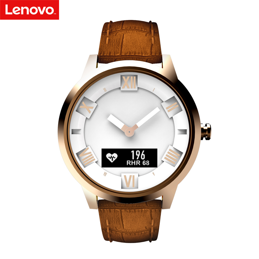 Lenovo Smart Watch X / X Plus 80ATM Waterproof Luminous Pointer Fitness Tracker Sleep Heart Rate Monitor SmartWatch BT Function