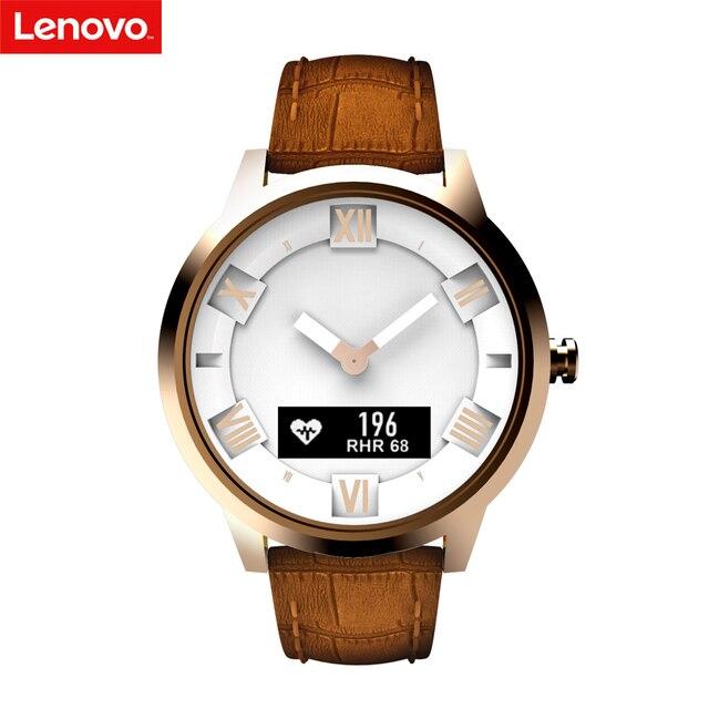 Lenovo חכם שעון X/X בתוספת 80ATM עמיד למים זוהר מצביע כושר גשש שינה קצב לב צג SmartWatch BT פונקציה