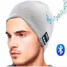 Men Women Winter Outdoor Sport Bluetooth Stereo Music Hat Wi