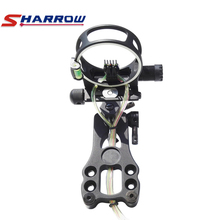 Sharrow 5-Pin Compound Bow Sight Black TP6550 Right Hand Hunting Shooting Archery Accessory все цены