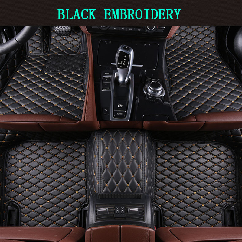 2017 Jaguar F Pace Interior: Car Floor Mats For Jaguar F PACE 2016 2017 Foot Carpets