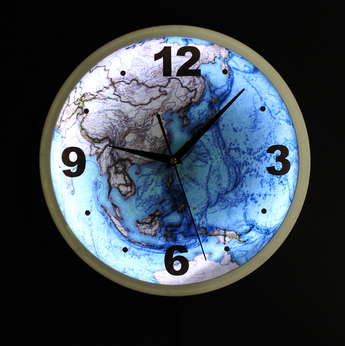 Fashion creative led light night light blue planet earth hanging fashion creative led light night light blue planet earth hanging wall clocks wall clock mute in floor clocks from home garden on aliexpress alibaba mozeypictures Gallery