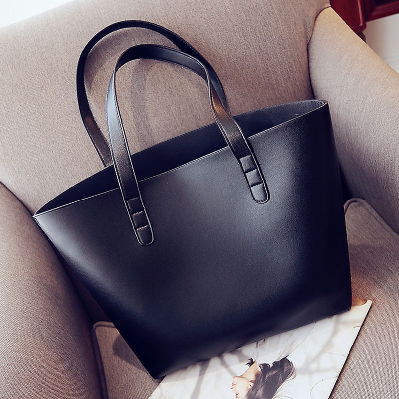 The New Handbag Clutches Zimu Package Europe and The United States Simple Trend Pu Shoulder Handbag Large Bags 2017 new tide in europe and the united states fashion handbag handbag shoulder bag