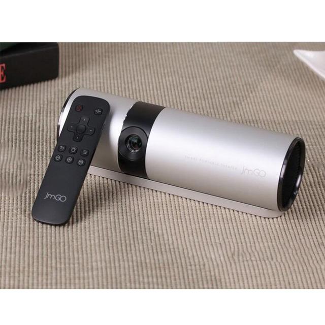 P2 jmgo teatro dlp 3d inteligente proyector beamer suporte 1080 p projetor de bolso portátil hi-fi bluetooth wi-fi android