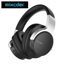 Mixcder E7 Active Noise Cancelling Wireless Bluetooth Headphones with Mic Hi-Fi Stereo Headset Deep Bass Over Ear Headphone