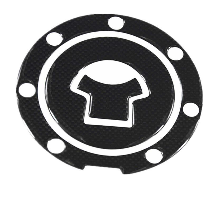 1 قطعة ألياف الكربون الوقود الغاز النفط غطاء خزان وسادة Tankpad حامي ملصق للدراجات النارية العالمي لهوندا سوزوكي كاواساكي ياماها