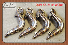 Super Power Winner Exhaust Tuned pipe for Losi 5ive-T 4×4 Truck 5T RC BND(LOSB0019) 1/5 Gas Truck Rovan LT KM-X2 DDT