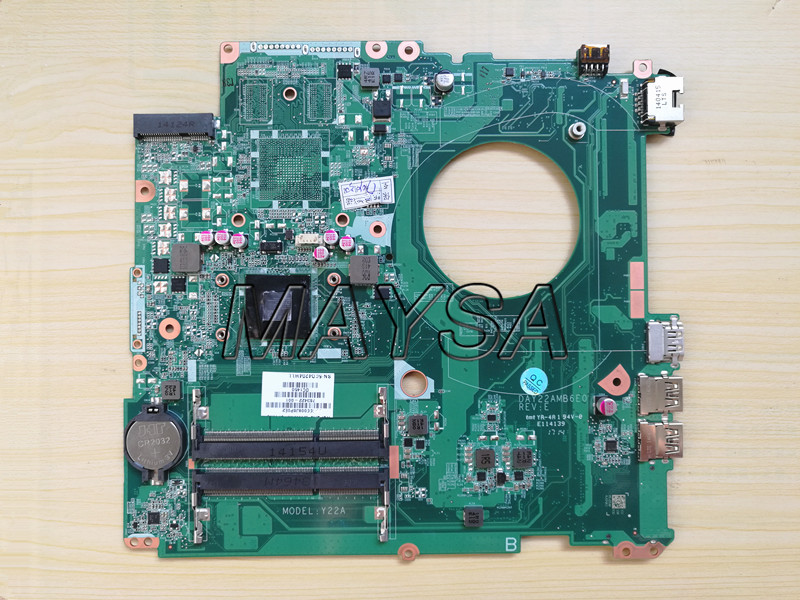 763422-501 FIT FOR HP PAVILION 17-F series Laptop Motherboard DAY22AMB6E0 REV:E A8-6410 Mainboard 90Days Warranty 100% tested