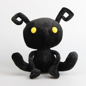 "Promotional Kingdom Hearts Shadow Heartless Ant Soft Plush Toy Doll Stuffed Animals 12"" 30 cm(China)"
