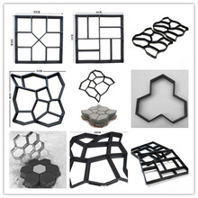 Garden Building Tool Cement Molds Concrete Path Maker Mould