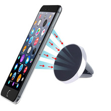 Universal Magnetic air vent mount holder For iPhone 6 6S Plus Desk Car Phone Holder Sticky For iphone 7 Xiaomi GPS Smartphone