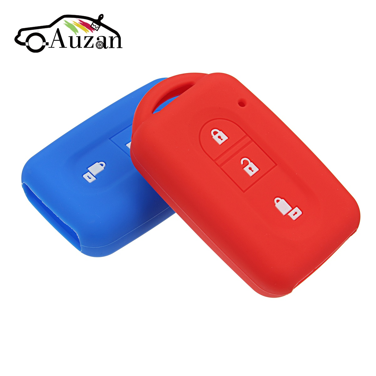 3 Buttons Car Remote Key Case Shell Protective Silicone Cover for Nissan QASHQAI JUKE X-Trail