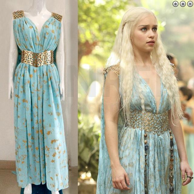 Daenerys Targaryen Qarth Halloween Costume