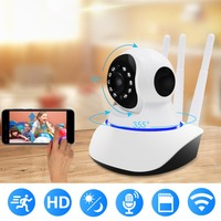 WiFi Camera WiFi Cam with Night Vision Security IP Camera for Indoor Home Security Monitoring Support Pan/Tilt /Zoom Motion