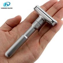 HAWARD Adjustable Shaving Razor For Men Double Edge Safety Razor Mild