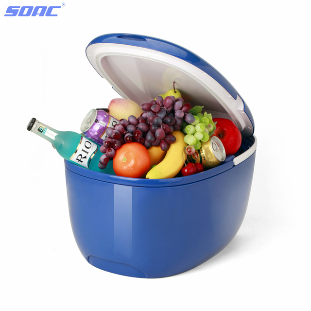 Top Freezer Refrigerator for Vehicle 96W Double Chips Good for Traveling Camping Dual Use in Car and Home