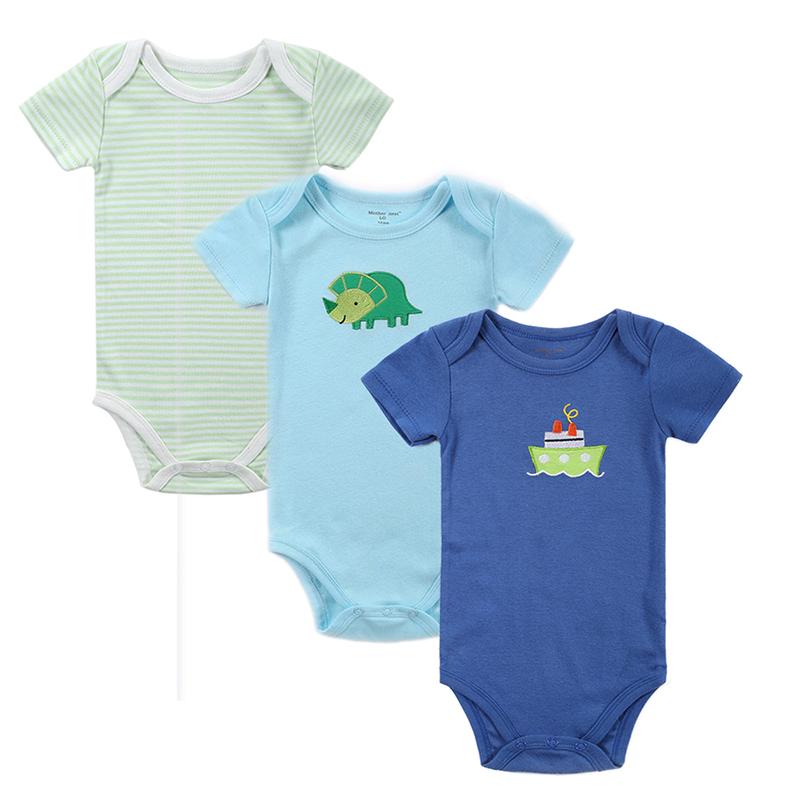 35PCS Baby Bodysuit 100%Cotton Infant Body Bebes Short Sleeves Clothing Jumpsuit Printed Baby Boy Girl Bodysuits Baby Clothing (1)