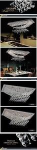 Image 4 - En Popüler Çağdaş Yatak Odası ışıkları Kristal Yemek Tavan Lambası kristal Lüks bir atmosfer avize ışığı