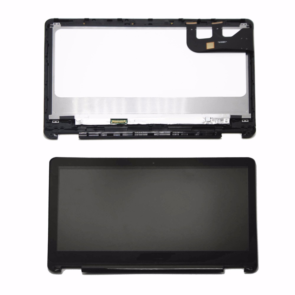 13.3Full LCD Screen Touch Digitizer Display Assembly+Bezel For Asus Transformer Book  TP301 TP301U TP301UJ TP301UA N133HSE-EA3 11 6 full lcd display touch screen digitizer with frame bezel assembly for samsung xe700t1c black colors