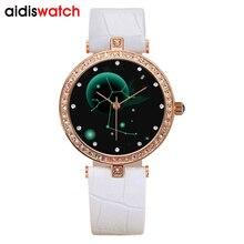 2019 top popular addies  luxury women watch high quality movement Twelve constellations womens business wristwatch