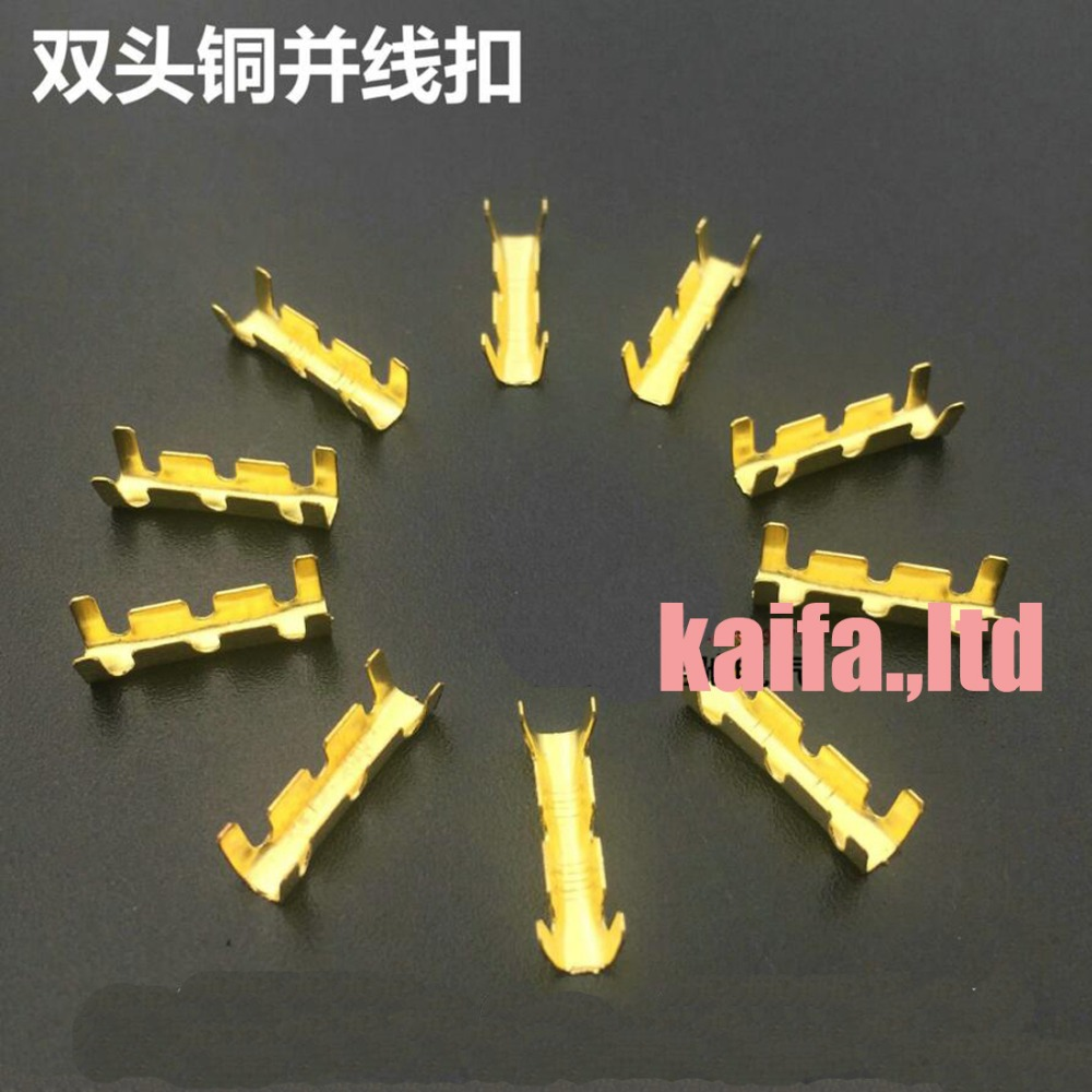 100pcs/lot  453  U-shaped terminal tab cold inserts connectors cold terminal small teeth fascia  terminal,0.5-1.5mm2 ...