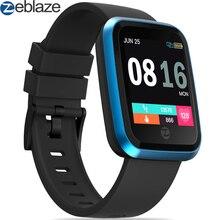 688b850d741 Zeblaze 2 Smartwatch Bluetooth Relógio Inteligente Relógio de Cristal Horas  Relógio Para Samsung Huawei Xiaomi ios