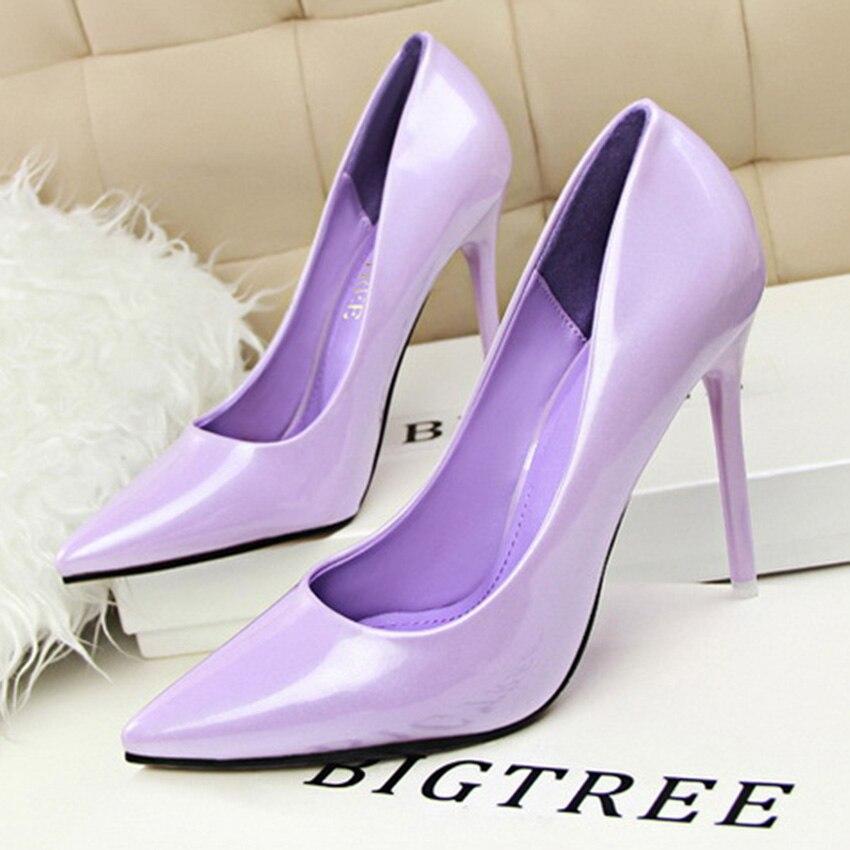 free shipping shoes woman women pumps chaussure femme zapatos mujer  tacon alto sapato feminino high heel shoes 48