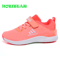 Hot Sale Kids Girls Running Shoes New Summer Soft Flat Casual Shoes Kids Boys Running Shoes Baby knitted Breathable Sneakers