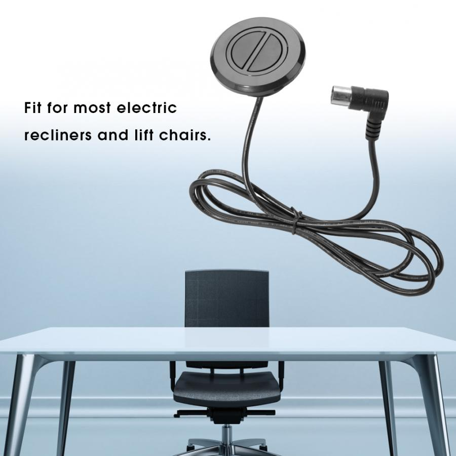Electric Recliner Chair Sofa 2 Button Touch Switch Round Switch