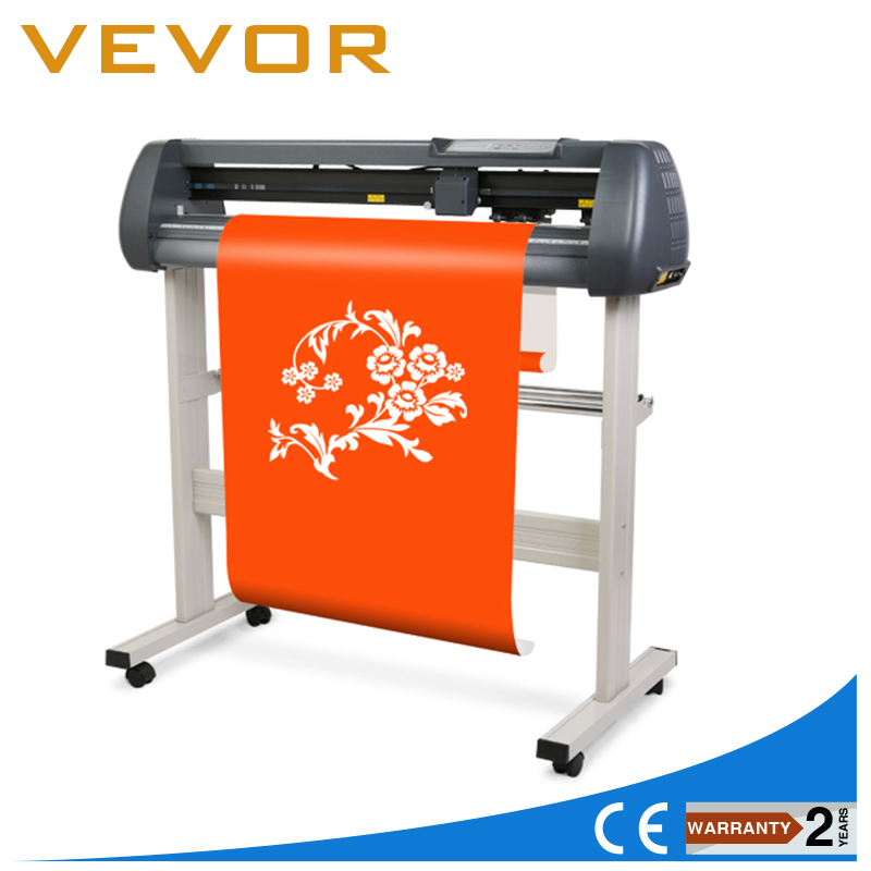 34 Vinyl Cutter Sign Cutting Plotter W/Artcut Software Design/Cut with stand image