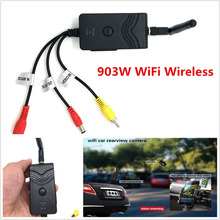 Car Wifi Camera 903W Wifi Transmitter Car Rearview Backup Camera Monitor 30FPS DC Interface for iPhone X Android Smartphones