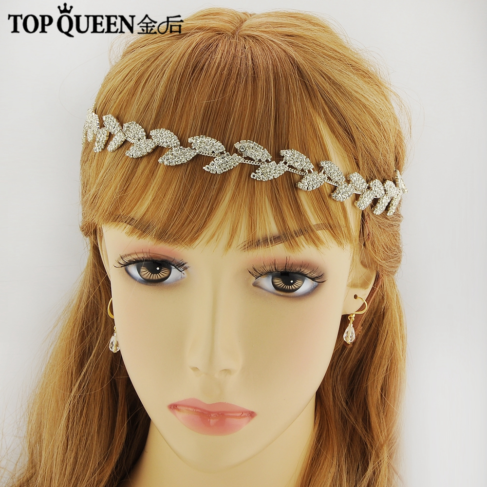 TOPQUEEN H198 Hot sale Stock 100% pure handmade Diamond wedding sash accessories and handdress embroidered bridal sash