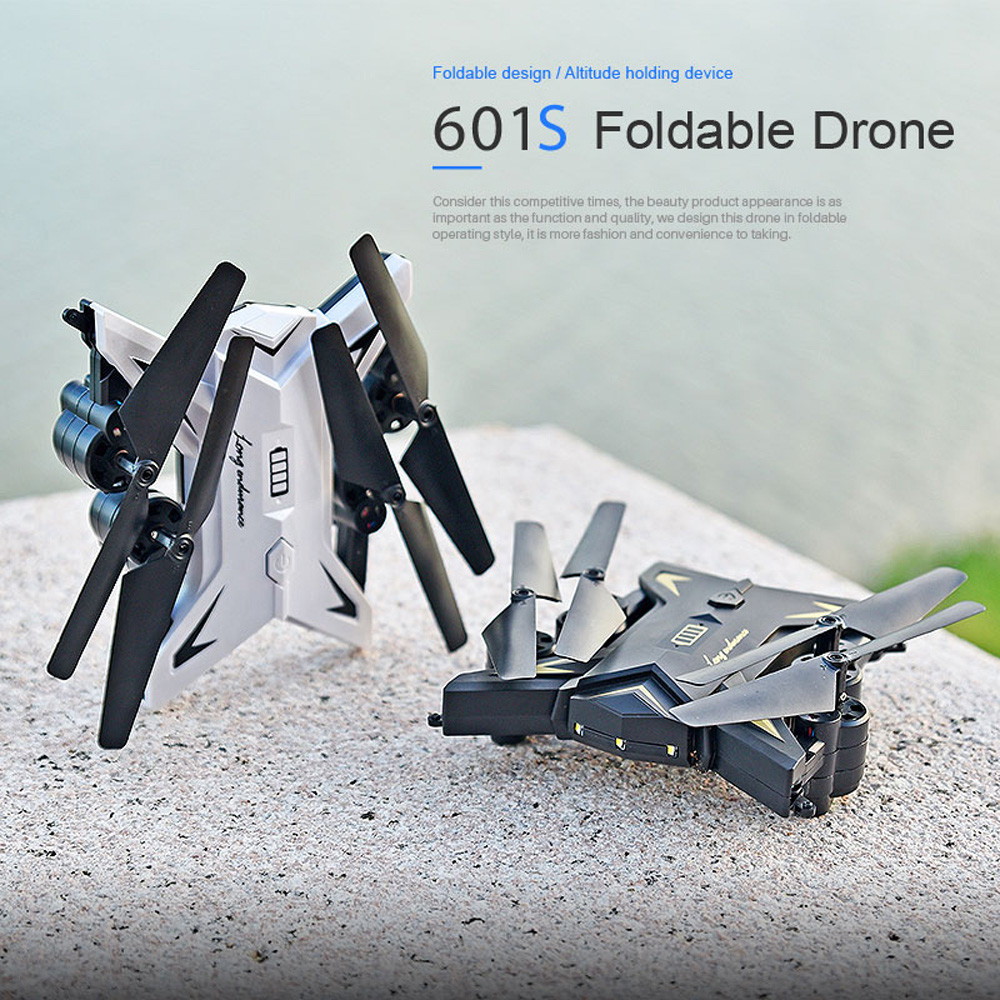 601S 1080P 5MP Quadcopter With Camera Foldable WIFI FPV Drone 20Min Flying 6-axis 4CH RC Helicopter Selfie Drones With Camera HD 31