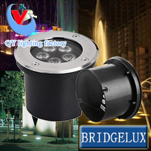 12pc/lot 5W LED underground light Buried outdoor lamp ground floor recessed foot Stair corner DC12V 24Vor AC85-265V