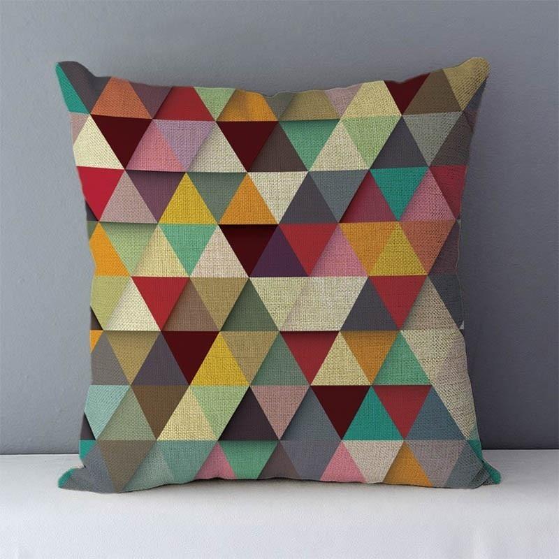 HTB11qmlXea5K1Rjt a0q6zGdVXa9 Quality Cozy Popular geometric couch cushion home decorative pillows cotton linen 45x45cm seat back cushions bedding pillowcase