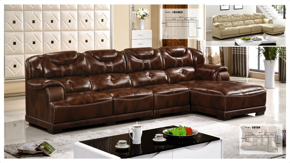 iexcellent designer corner sofa bedeuropean and american style italian leather sofa set living room furniture - Italian Leather Sofa