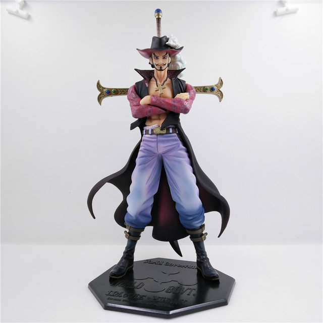 Japan Anime Figure One Piece Hawkeye Mikhail Action Figures PVC Model Toys Collectibles Dolls Gift Chinese Version Collection