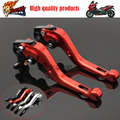 For GILERA GP 800 GP800 2007-2009 Motorcycle Accessories Short Brake Clutch Levers Red