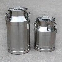 Толстая 304 нержавеющая сталь уплотнительное молочное ведро арахисовое металлическое вино рисовое ведро Герметичная Бутылка Для Воды, моло