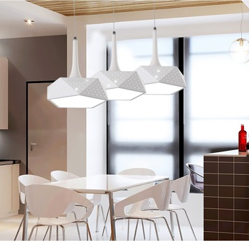 LED chandelier simple modern living room restaurant bar creative personality art Dimming Ceiling lights AC110-240V