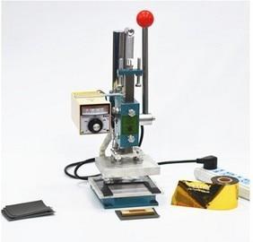 220V Manual Hot foil stamping machine leather debossing machine13x10cm, Printing Logo Marking Press Embossing Machine