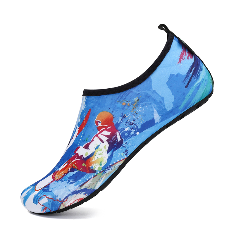 Soft Water Shoes Summer Shoes Men Beach Slippers Upstream Aqua Shoes Woman River Sandals Swimming Diving Socks Tenis Masculino 12