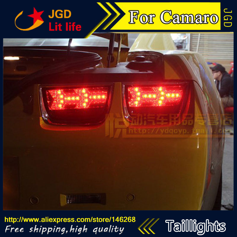 Car Styling tail lights for Chevrolet Camaro taillights LED Tail Lamp rear trunk lamp cover drl+signal+brake+reverse car styling tail lights for chevrolet captiva 2009 2016 taillights led tail lamp rear trunk lamp cover drl signal brake reverse