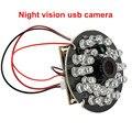 2MP1080P H.264 30fps CMOS AR0330 широкоугольный объектив 2 8 мм инфракрасное ночное видение IR CUT usb модуль камеры с микрофоном