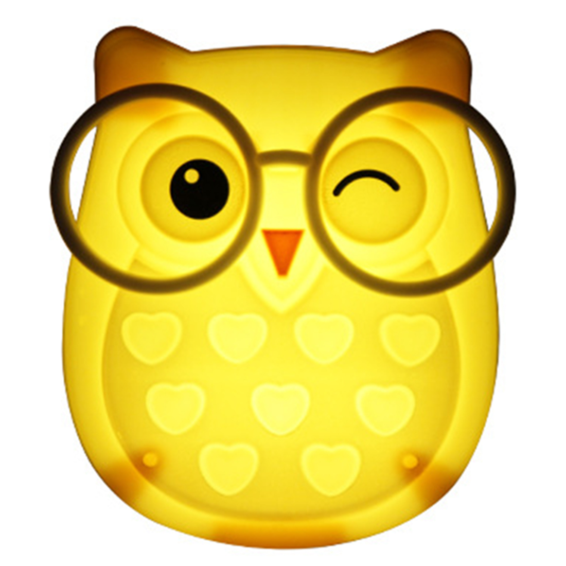 Mini Owl Light Led Animal Nightlight Auto Control Sensor Lamp Child Kids Baby Soft Lights Bedroom Lighting US Plug