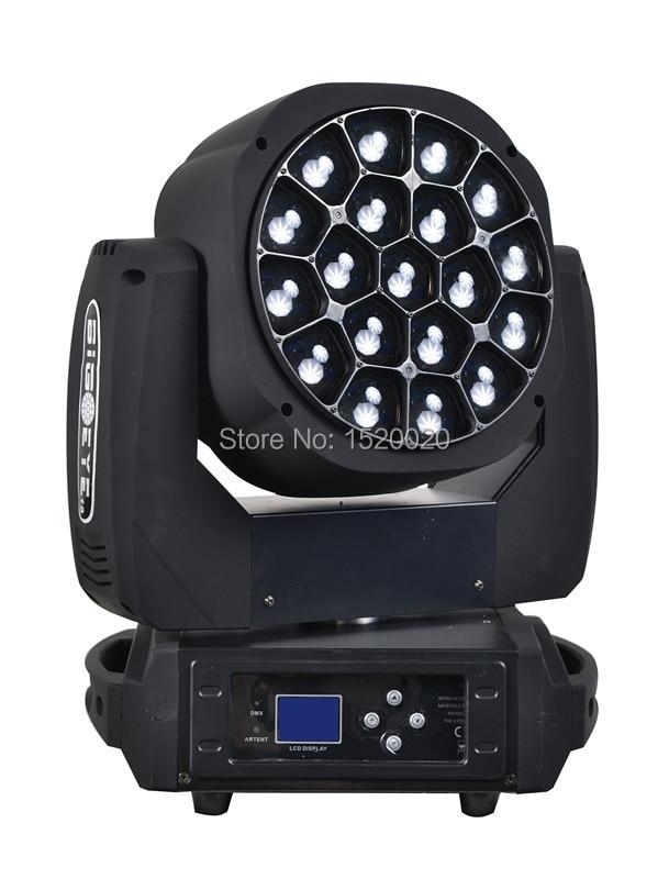 OSRAM led 19*15w led bee eyes beam wash zoom moving head dmx b-eye stage dj disco lighting