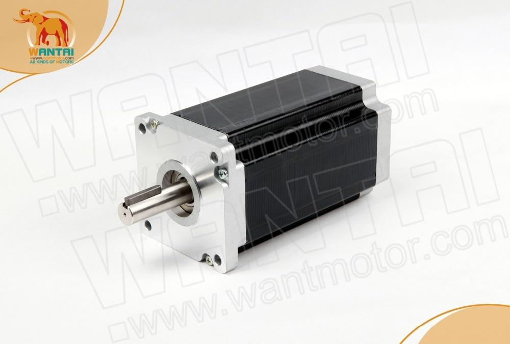 NEWMotor! Wantai Nema34 Stepper Motor  1190oz-in 5.6A 116mm KEY WAY Single shaft CE ROHS ISO Printer Plastic Foam MillNEWMotor! Wantai Nema34 Stepper Motor  1190oz-in 5.6A 116mm KEY WAY Single shaft CE ROHS ISO Printer Plastic Foam Mill