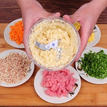 kitchen accessories Multifunction Vegetable Chopper Cutter Processor Fruit Twist Shredder Manual Meat Grinder Juice
