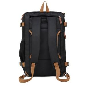Image 2 - Multi functional Backpack Men Laptop Bag 17.3 Inch For Macbook Pro 15 Laptop Briefcase Travel Bag Laptop Bag 15.6 Inch