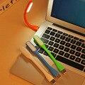 2016 El Más Nuevo Mini Teclado USB Lámpara de Luz LED Flexible Con Usb Para Powerbank PC Portátil de Lectura Del Envío libre